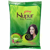 Godrej Nupur Mehendi Mehndi Henna Hair Color & Tattoos 100% Natural USA Seller