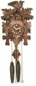 Bird with Five Leaves Cuckoo Clock Made in Germany
