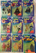 The Shadow, Complete Collection of Action Figures w Bullet-Proof Shadow!!