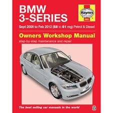 Bmw Serie 3 2.0 Gasolina 2.0 3.0 Diesel 2008 a 2012 Haynes Manual de taller 58-61