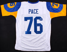Orlando Pace Signed Rams Jersey Inscribed