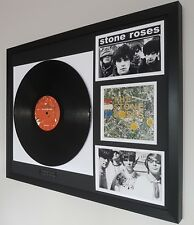 The Stone Roses Original Vinyl Album-Luxury Box Framed-Limited Edition-Ian Brown