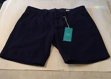 """""""OURS"""" Twill Cotton Navy Blue Shorts Sz 30"""