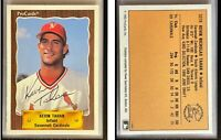 Kevin Tahan Signed 1990 CMC #664 Card Savannah Cardinals Auto Autograph