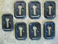 1 No Original Reclaimed 1964 Black Everite Cupboard Handles CP33