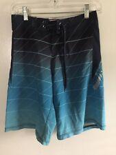Ron Jon Surf Shop Board Shorts - Youth size 26 - Blue