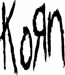 Korn Vinyl Decal / Sticker