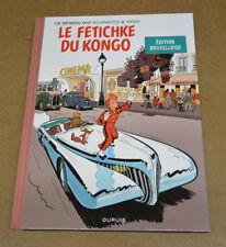YANN - SPIROU ET FANTASIO - 7 - LE FETICHKE DU KONGO - TL EN BRUXELLOIS ( TTBE )