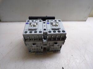 Lot of 2  Allen Bradley 100-C16*10 Series B Contactor COIL 120 VAC
