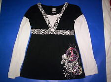 Girl's pull over top sz L (10/12)