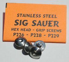 Custom Sig Sauer Stainless Steel Hex Head Grip Screws P226 / P228 / P229 SigArms