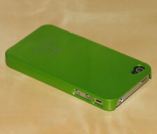 Green Hard Back Skin Case Cover For Apple iPhone  4