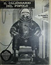 """"""" IL CALENDARIO DEL POPOLO N° 159 / DIC/1957 ANNO XIII° """" TUTA SPECIALE . . ."""