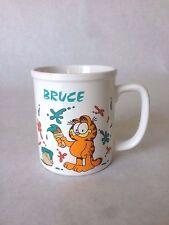 Vintage Garfield Coffee Cup Mug 1978 Cat Painting Bruce