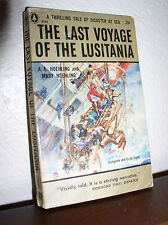 The Last Voyage of the Lusitania by Hoehling (Popular #G184,April 1956,Paperback