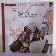 """33T HAYDN SYMPHONIES Vinyle LP12"""" LES ADIEUX - L'HORLOGE - PHILIPS 9500520"""