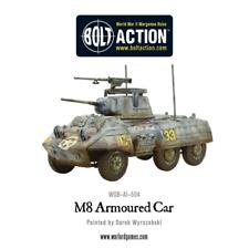 WARLORD Games NUOVO CON SCATOLA M8/M20 Levriero SCOUT CAR (Plastica) WGB-AI-504