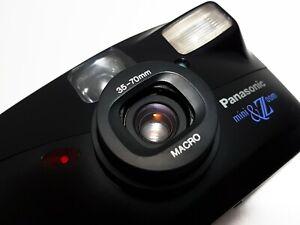 +FILM TESTED+ Panasonic Mini Zoom 35mm Compact Point n Shoot Film Camera Leica