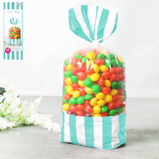 5x Tiffany Blue Mint Favour Gift Goodies Candy Loot Bag Kids Party Supplies 24pk