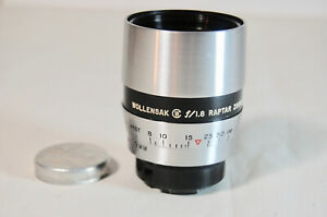 Excellent Condition  WOLLENSAK 1.8 RAPTAR ZOOM LENS  9mm Wide Angle