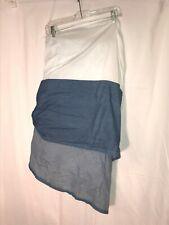 King Blue Denim Dust Skirt 100% Cotton