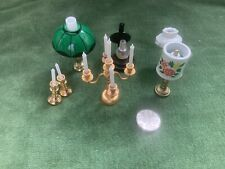 Dolls House Lights Candles Lamps