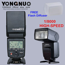 YONGNUO YN568EX II TTL Flash Unit Speedlite for Canon 6D 7DII 70D 60D 50D 40D 30