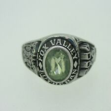 Silver Tone Fox Valley Lutheran High School Class 2004 Ring Size 8