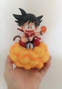 Dragon Ball Z Goku Kids on somersault clouds PVC Action Figure Model