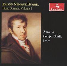 Antonio Pompa-Baldi - Piano Sonatas 1 [New CD]