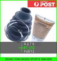 Fits SSANG YONG MUSSO SPORTS 1999-2008 - Boot Inner Cv Joint Kit 82X106X28
