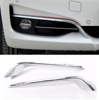 BMW 3 Series GT Gran Turismo F34 Front Fog Lamp Strips chrome style trim cover