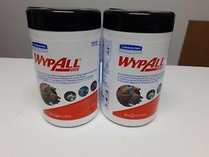2 Dosen Kimberly-Clark Wypall Reinigungstücher (7772)
