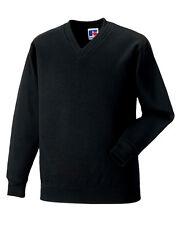 Russell Jerzees Schoolgear Children's V-Neck Sweatshirt Kids School Wear
