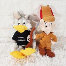 Bugs Bunny Rabbit Season and Elmer Fudd Bean Bag Plush