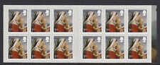 Gb 2017 12 x 1st Class Christmas Self Adhesive Madonna & Child Booklet Lx56