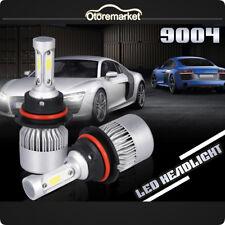 2X S2 9004 HB1 Car LED Headlight Kit Hi/Lo Beam Lamp Bulbs Auto Converstion