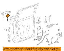 GM OEM Lock Hardware-Rear Door-Cover 13593680