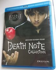 Death Note Movie 1&2 Collection Blu Ray Viz Pictures 2-Movie pack Region A/1
