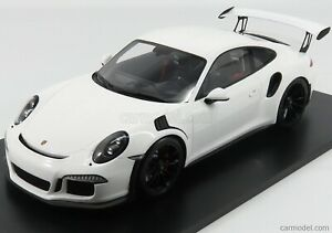 Spark-model 12s006 scala 1/12 porsche 911 991 gt3 rs coupe 2016 white modellismo