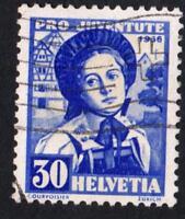 SUISSE-   N°: 301  USED -YEAR 1936  CV : 25 €