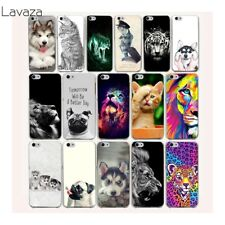 Covers for Phone Pug Tiger Mobile Case For iPhone XS Max XR 4 8 7 6 6S Plus X 5S