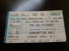 The Wallflowers 1997 Concert Ticket Stub Convention Hall Asbury Park Nj