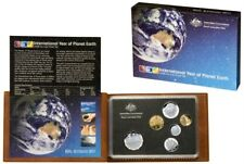 2008 Australian Proof Set of Coins - International Year of Planet Earth
