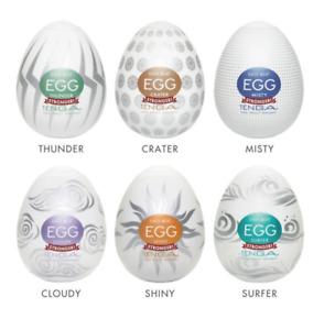 Tenga Egg 6 Pack Hard Boiled Strokers Variety Pack Male Masturbators