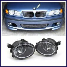 BMW E46 MTECH M TECH STYLE FRONT BUMPER W/ CLEAR FOG LIGHTS 1999-2005 SEDANS