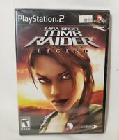 Lara Croft Tomb Raider Legend (Sony PlayStation 2, 2006) PS2 Brand New Sealed