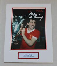 Alan Kennedy Liverpool HAND SIGNED Autograph Photo Mount Memorabilia COA Proof