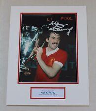 Alan Kennedy Liverpool HAND SIGNED Autograph Photo Mount Memorabilia COA Proof