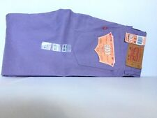 Levi's Straus & co. 501 Colored Jeans Mens 38w  34L  Purple Raw Unwashed